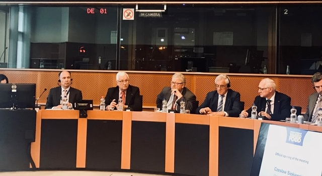 UPEMI w Parlamencie Europejskim- Round Table Discussion