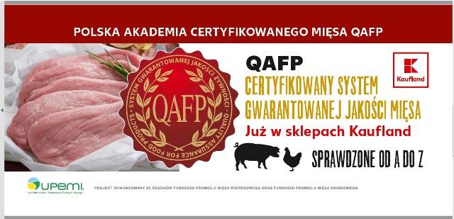 Mięso QAFP w sieci sklepów Kaufland!