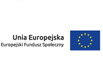 Logotyp Unii Europejskiej EFS